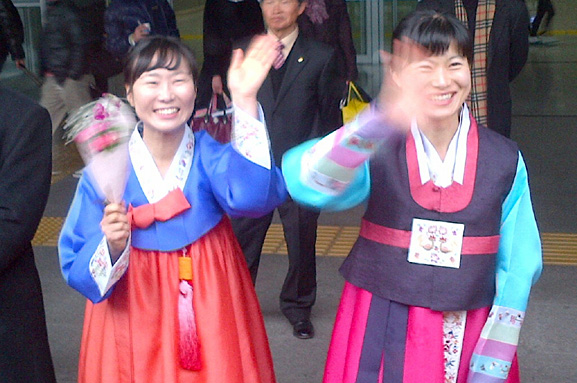 Korea Welcoming Emily1