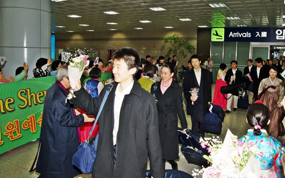 Arriving Korea2