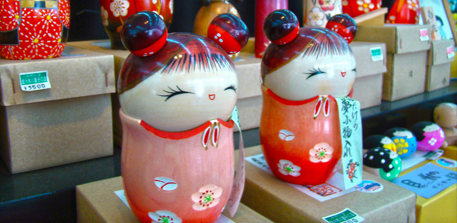 Little Japanese dolls