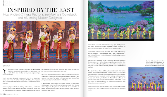 Shen Yun In 25A Magazine New