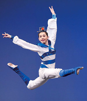 Miranda Zhou Galati 2010 Dance Competition New