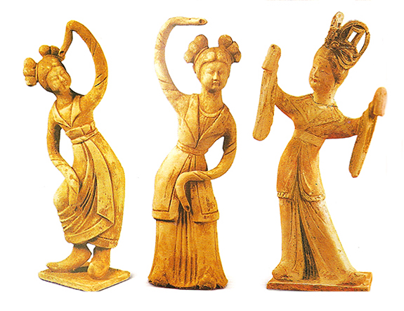 Ancient Dancers New