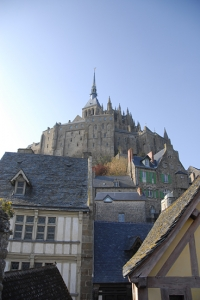 After performing in Mérignac, we visited Le Mont St. Michel (TK).