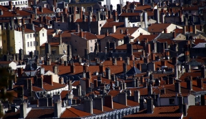 And the rustic rooftops of Lyon homes (Annie Li).