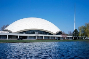 Shen Yun's 2011 Europe season began in this German theater, Jahrhunderthalle Frankfurt, on February 26.