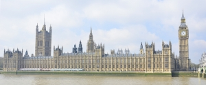 The Palace of Westminster from across the River Thames. (Annie Li)