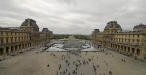 Luego llegó nuestra parte favorita de la aventura parisina: el Louvre.(TK Kwok)