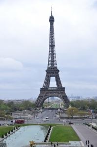 Bien sûr, il ne pourrait y avoir de voyage à Paris sans une photo de la Tour Eiffel. (Annie Li)