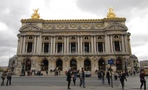 El Palais Garnier se construyó entre 1861 y 1875 para la Ópera de París. (TK Kwok)