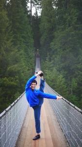 Es stellte sich heraus, dass wir biegsamer waren, als die Brücke. (Ben Chen; Lumix GF3)