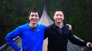 前世からの双子:ソンタオ・フェンとスカイ・リウ(撮影:ベン・チェン:Lumix GF3)