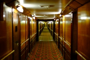 In Los Angeles (nun, um genau zu sein Long Beach) logierten wir in dem berühmten Schiff Queen Mary, das zu einem Hotel umgebaut worden war. (Songtao Feng, Fujifilm XE1)