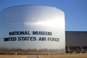 On an off day, a visit to the National U.S. Air Force Museum in Dayton, Ohio, 2012. (Sebastien Chun)