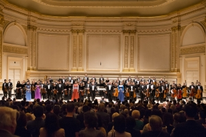 Both the afternoon and evening concerts concluded with four encores and a prolonged standing ovation.