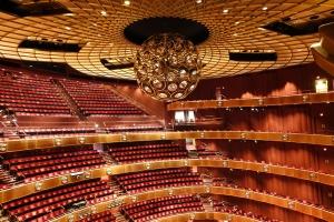 뉴욕 링컨센터의 데이비드 코크극장 내부. 여기서 지난 1월 14~17일 총 5회 공연이 열렸다. 이번 공연을 놓친 이들을 위해 오는 3월 뉴욕에서 다시 션윈 공연이 열린다. (photo by dancer Felix Sun)