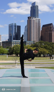Daren Chou w The Long Center for the Performing Arts, Austin, Teksas. (fot. Piotr Huang)