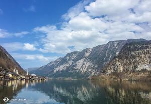 位於奧地利的哈爾施塔特村被列入世界文化遺產。(攝影:李安妮)
