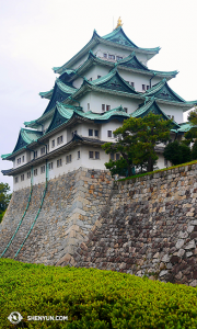名古屋城始建於1612年,大部份建築於1945的空襲中被燒毀,1950年代後期重建。(攝影:陳陽暮月)