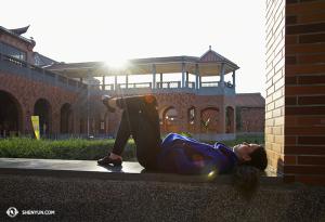 Även känd som den plats där solistdansaren Erin Battrick en gång tog en tupplur. (Foto av dansaren Stephanie Guo)