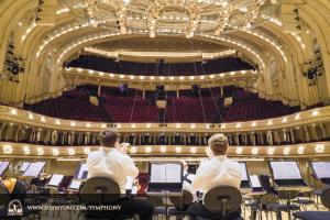 10月29日,2016年神韻交響樂巡迴的最後一場演出在芝加哥交響樂中心進行。