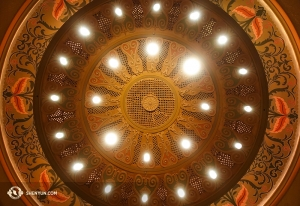 Santa Barbara's Granada Theatre's Spanish Moorish architecture. (Photo by Annie Li)