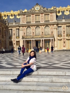 Erhu soloist Linda Zhen Wang and the orchestra also spent a morning at the Palace of Versailles, built by Louis XIV.