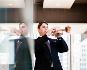 Trumpetista Vladimir Zemtsov pochází z Ruska. K Shen Yun Performing Arts se připojil teprve v roce 2017.