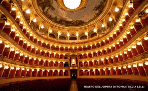 We performed at the Teatro dell'Opera, one of the most renowned opera houses in Italy.