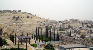 Area along the southern part of Temple Mount, leading to the City of David. (Photo by percussionist Tiffany Yu)