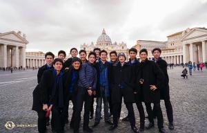 А в Европе коллектив Shen Yun New York Company знакомится с Римом.
