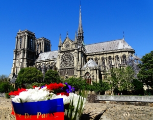 Our last stop in Paris is the Notre-Dame de Paris, the famous cathedral. (Photo by Tony Zhao)