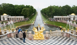 It's no wonder Peterhof Palace is often referred to as the