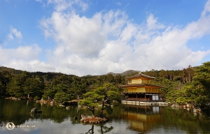 «Le temple de l'eau pure». (Photo de Shawn Ren)<br />Kiyomizu-dera regorge de sites intéressants. (Photo de Shawn Ren)<br />Le danseur Teo Yin frappe le plafond de la