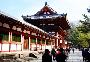 The entrance to Todai-ji. (Photo by dancer Jack Han)