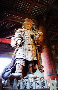 Komokuten, Lord of the West—one of the Four Celestial Guardians of the Four Directions. (Photo by Jack Han)