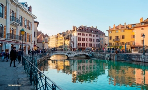 Annecy is known as the