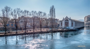 A hydro power plant and waterworks for over 100 years, the historic Batiment des Forces Motrices was converted into a theater in 1997. (Photo by Principal Dancer Monty Mou)