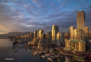 A Vancouver evening. (Photo by Daniel Jiang)