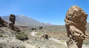 The volcanic landscapes of Teide National Park—a UNESCO World Heritage Site.