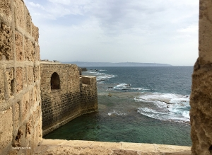 MC Leeshai Lemish returned to Israel, where he grew up, and visited the city of Acre. These sea walls defended the city from Napoleon's siege in 1799, dealing a critical blow to Bonaparte's attempt to conquer the East.