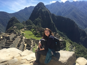 In Peru, percussionist Tiffany Yu scaled Machu Picchu.