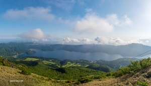 A rewarding vista after scaling Mount Komagatake. (Photo by William Li)