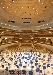 Dàn nhạc quay trở lại Cao Hùng cho buổi diễn thứ ba, lần này tại Trung tâm Nghệ thuật Quốc gia Cao Hùng.