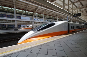 Taiwan's Japan-sourced high speed rail system.
