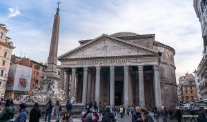 While in Rome, Shen Yun Touring Company visits one of the most famous sights in Italy: the Pantheon.