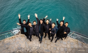 Hello from Shen Yun Touring Company in Cinque Terre, Italy! (Photo by William Li)