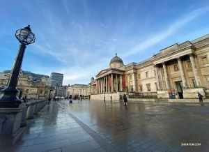 Opened in 1824 with only 38 pieces, the National Gallery at Trafalgar Square houses over 2,300 works of art today.