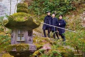 Dagens sista stopp: Templet Ginkakuji (银 阁 寺), byggt på 1400-talet. (Foto: Tony Zhao)