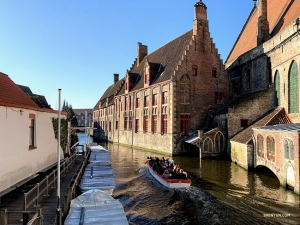 One of the many canals in this Belgium city that's often called the 'Venice of the North.'