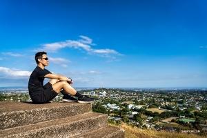 作為奧克蘭最高的火山口,在這裏可以360度俯覽城市全景。